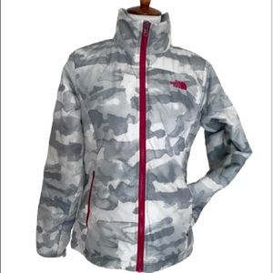 The North Face Packable Camo Print Jacket